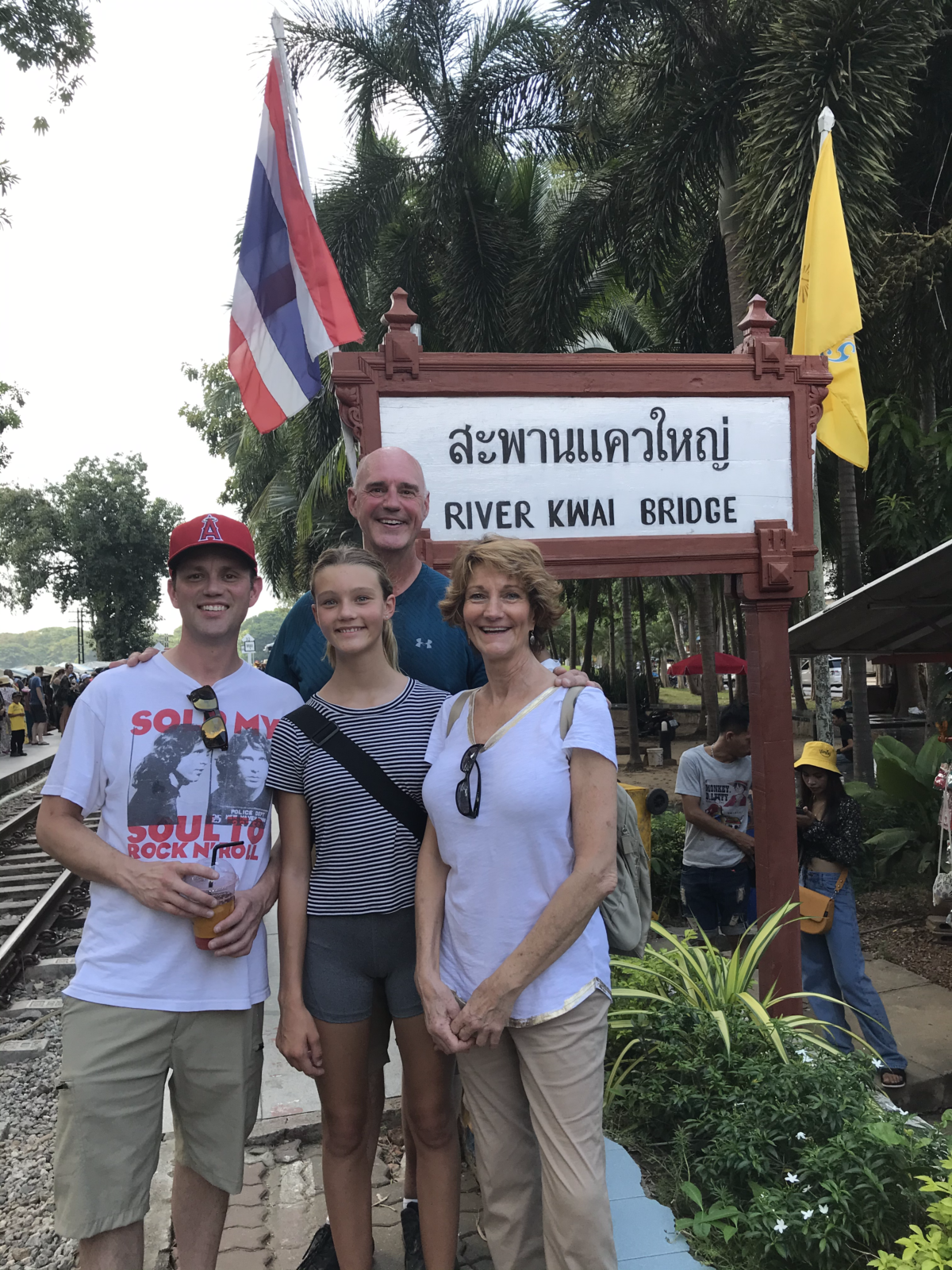 10-26 Family At River Kwai Bridge Sign - Copy