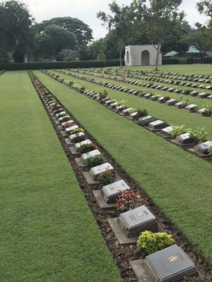 10-26 War Cemetary Tombstones 5
