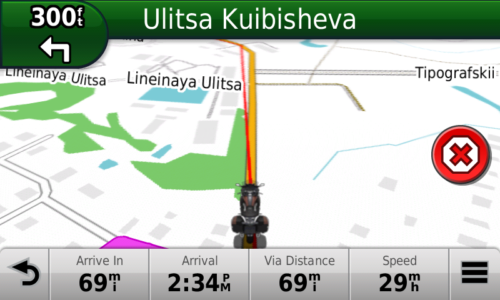 GPS Screenshot 1