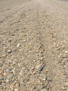 So, in case you were wondering what all the fuss is about, this is what a gravel road in Patagonia looks like.