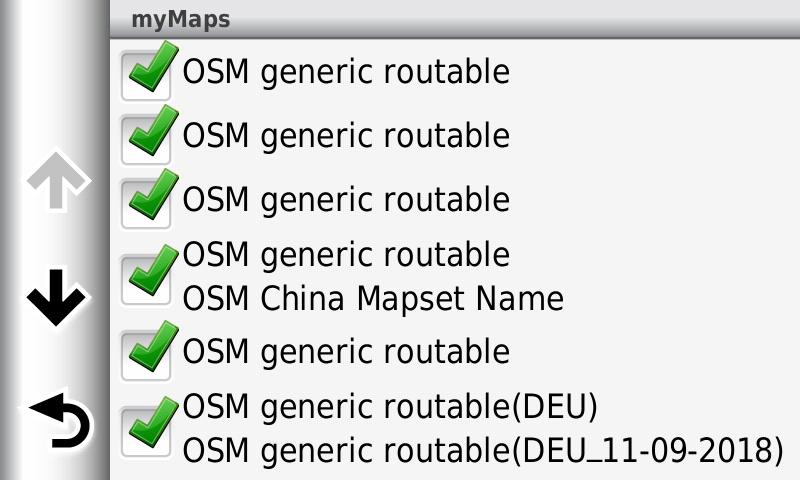 Using (Free) Open Source Maps in a Garmin GPS - Motorcycle